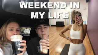 weekend in my life: morning & night skincare, starbucks order & more!