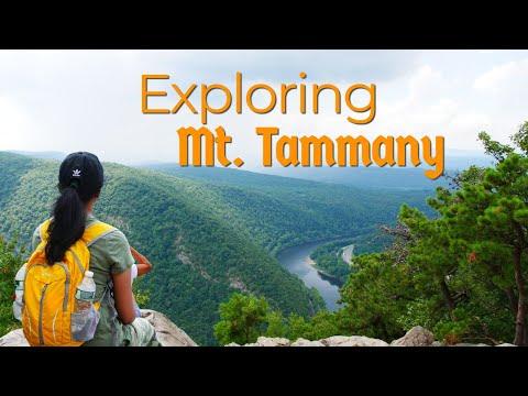 Hiking Near Delaware Water Gap | Mount Tammany | During pandemic