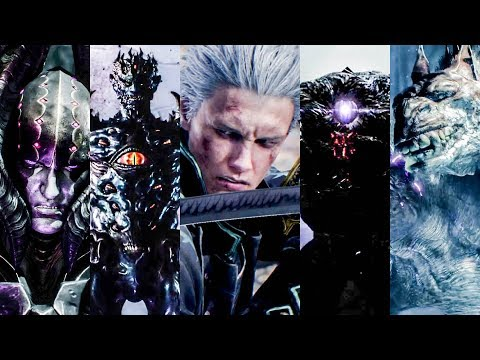 Devil May Cry 5 - Dante All Bosses (No-Damage) thumbnail