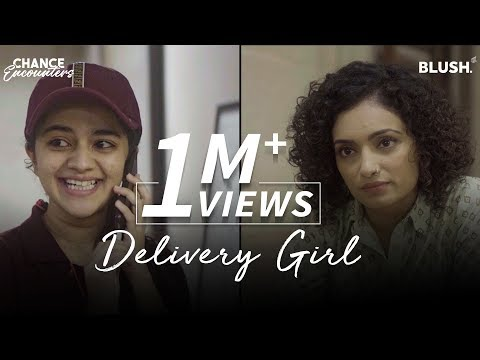 Download Delivery Girl | Chance Encounters | Ft. Vaibhavi Upadhyay, Krutika Deo & Tarun Khem | Blush Mp4 baru