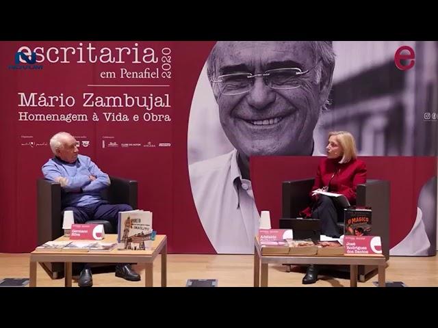 Escritaria 2020 abraça Mário Zambujal
