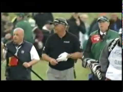Darren Clarke's final hole of the 2011 Open Championship