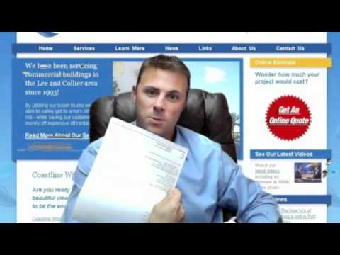 Jason Evers of Coastline Window Cleaning gives a testimonial of ResponsiBid