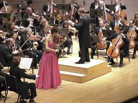 Arzewski Plays Brahms Violin Concerto