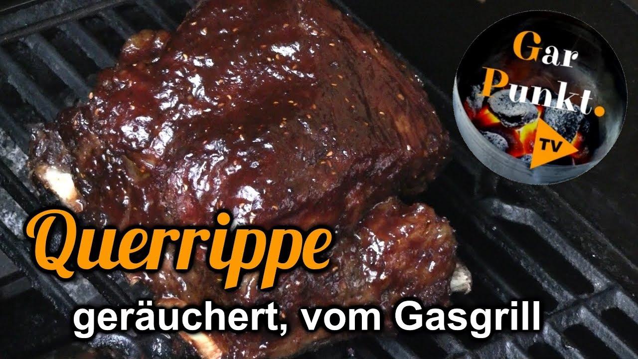Spareribs Gasgrill Zeitler : Querrippe geräuchert vom gasgrill garpunkt.tv #29 grill bbq