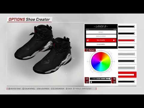 f50281e47e9dda ... australia zorify nba 2k18 shoe creator air jordan 8 cement 48904 a2aa9
