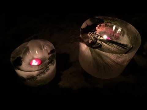 How to Make Basic Luminaries - Ice Globe Christmas Decoration Outdoor Luminaria