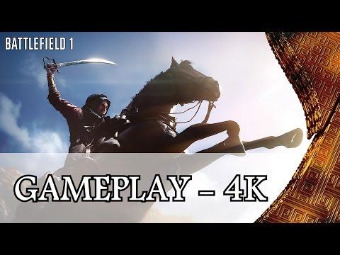 BF1 - 4K - Il descend de la montagne à Cheval - Gameplay Beta