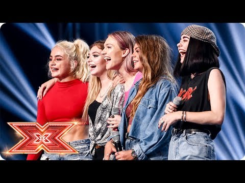 Will Simon give the New Girl Band a chance? | Six Chair Challenge | The X Factor 2017