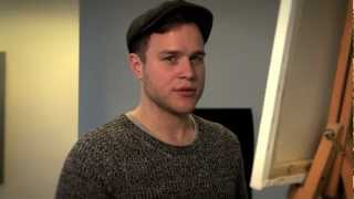 Olly Murs draws his perfect girlfriend