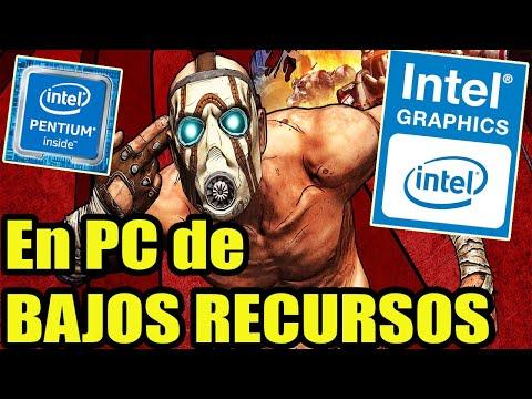 BORDERLANDS: GAME OF THE YEAR EDITION   En *PC DE BAJOS RECURSOS*   (1,6 ghz)   INTEL HD GRAPHICS  
