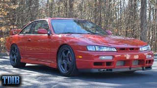 homepage tile video photo for NASTY 2JZ S14 Review! The Best Platform for a JZ Swap?