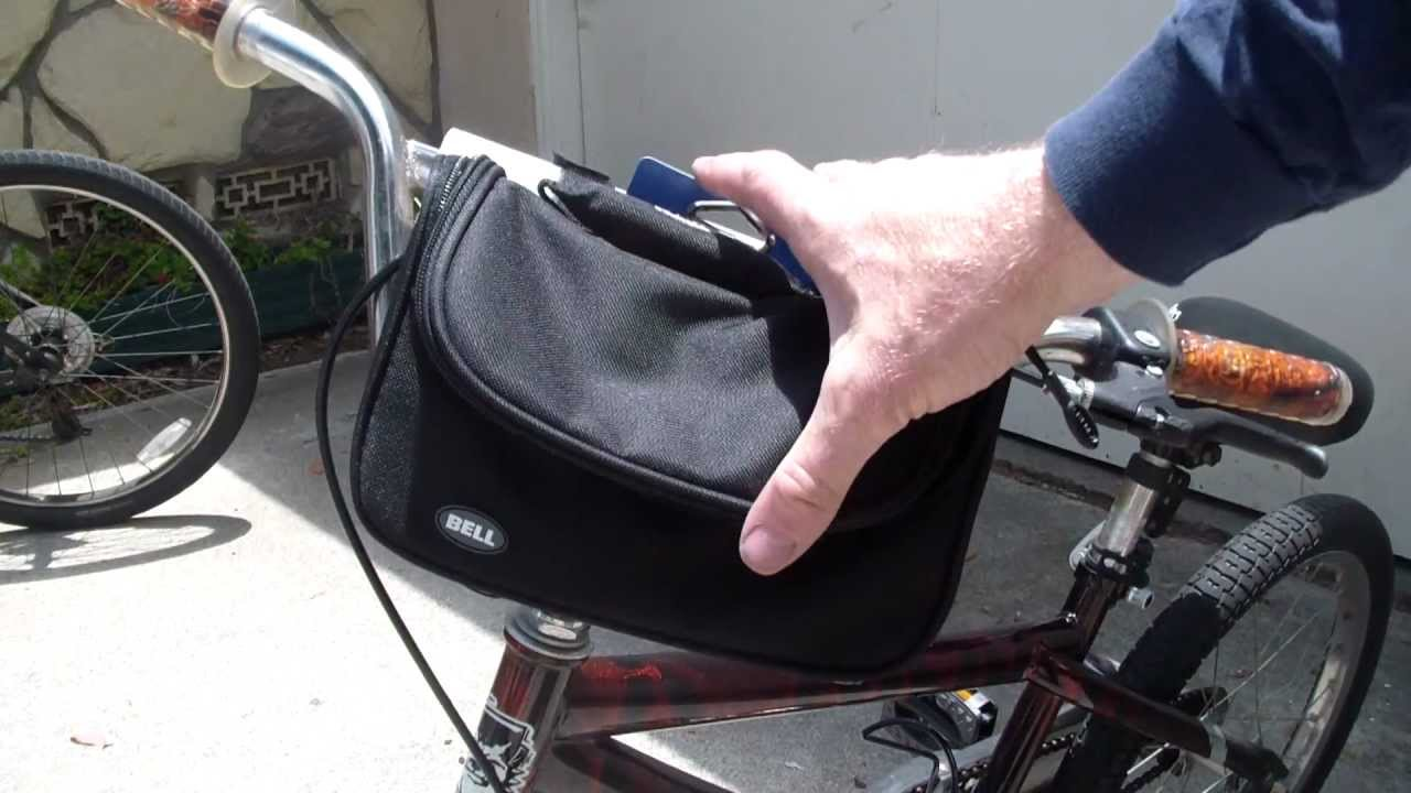 Bell Road Stash Bike Handlebar Bag Review