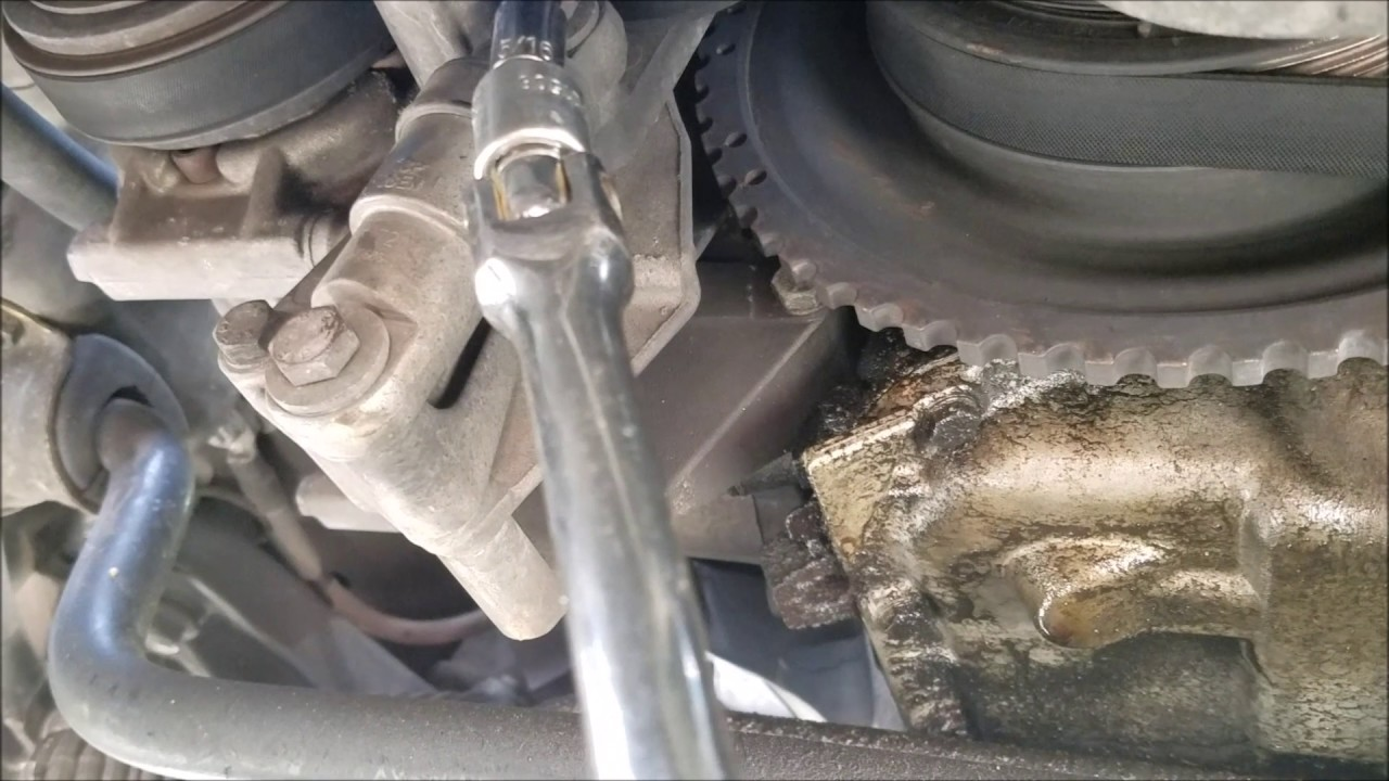 bmw e36 serpentine belt replacement [ 1280 x 720 Pixel ]