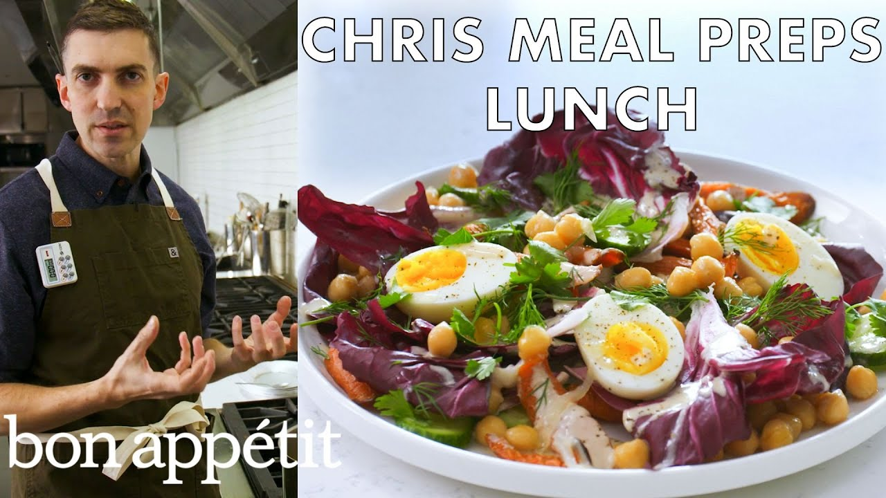 Chris Meal Preps Lunch For a Week | From the Test Kitchen & Healthyish | Bon Appétit