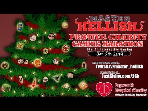 Event Coming Soon - 26h Festive Charity Gaming Marathon