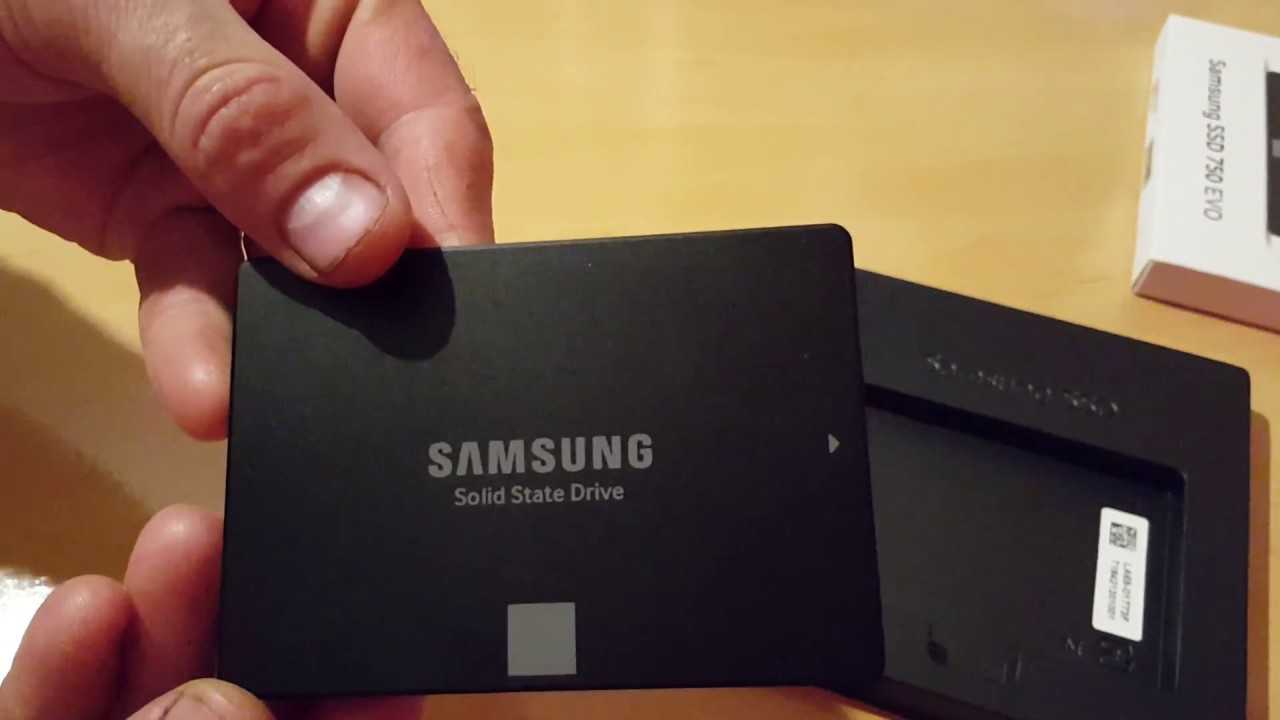 Unibox SSD Samsung 750 EVO 120 GB