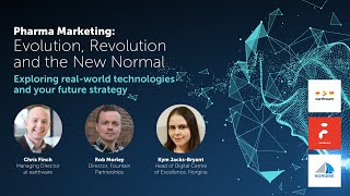 Chatbots, e-learning and webinars. From Pharma Marketing: Evolution, Revolution and the New Normal