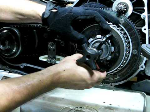 stator repair 3e of 9 accessing clutch plates with special tool rh youtube com