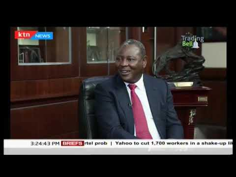 Tading Bell: Dr. James Mwangi, CEO Equity Banks speaks on Banking