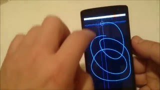 lg Leon lcd and touch test