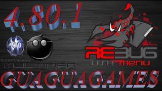 CFW-DEBUG 4.80.1 COBRA PS3 DESBLOQUEADO