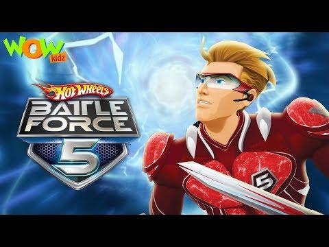 Hot Wheels Battle Force 5 | Starting Line | In Hindi | Ep 1 | Wow Kidz