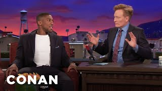 Anthony Joshua Finds Conan's Weak Point  - CONAN on TBS