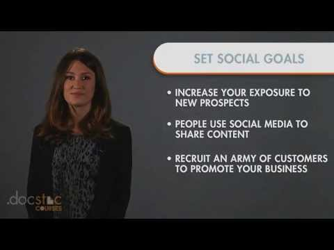 Goal #1 - New Prospects: Setting Goals - 6-Step Strategy To Profitable Social Media Marketing