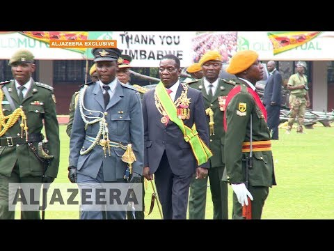 Zimbabwe's new president implicated in 1980s massacres