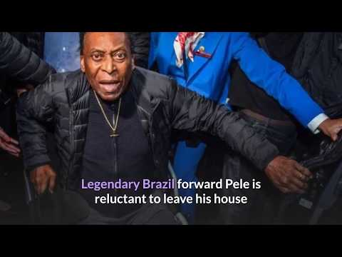 Legend Pele 'embarrassed' to leave house