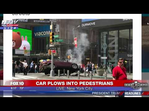 FULL COVERAGE: 26-Year-Old Navy Vet Crashes into Crowd in Times Square, Killing 1 & Injuring 22