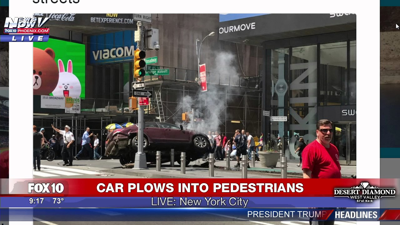 Times Square car crash driver Richard Rojas 'heard voices'