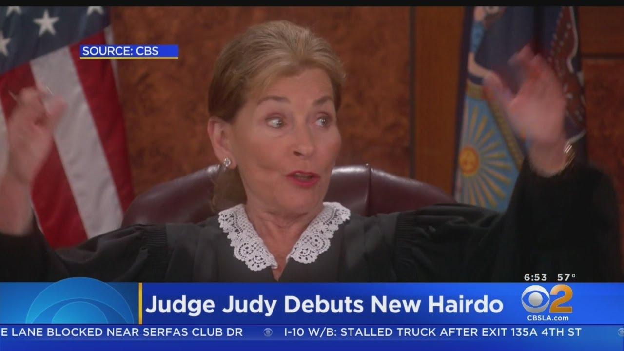 judge judy debuts ponytail