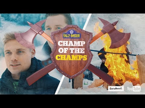 Rally Sweden 2018 - Champ of the Champs! Episode 1 -  Pontus Tidemand Vs. Jonas Andersson