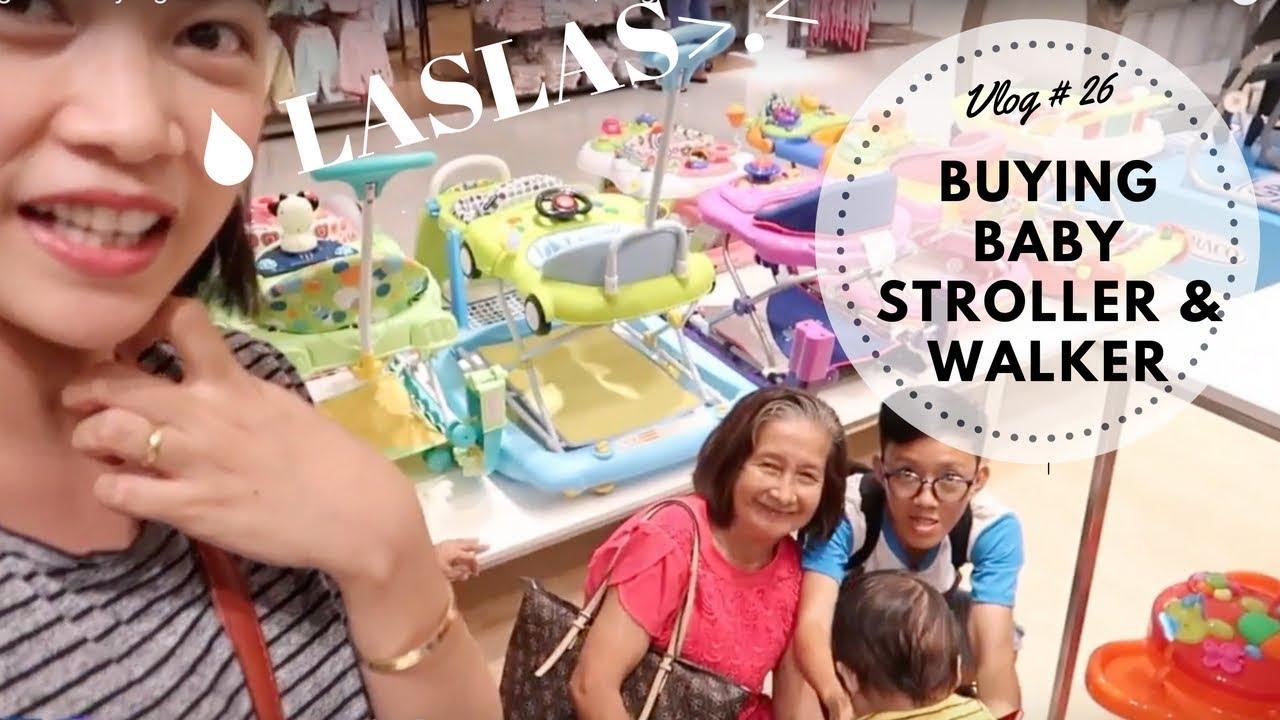 Vlog #26 Buying Stroller and Walker SM | Enfant | Taglish