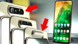 Samsung Galaxy A80 İnceleme: Oynar Başlıklı En İyi Selfie Telefonu?