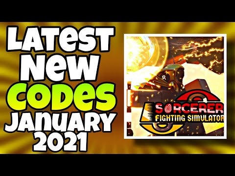 Sorcerer Fighting Simulator Codes January 2021 ...