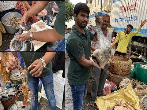 Amazing Fish Market In Mumbai