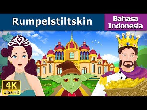 Rumpelstiltskin - dongeng bahasa indonesia - Cerita Anak Anak - 4K UHD - Indonesian Fairy Tales