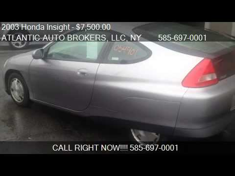 2003 Honda Insight Hatchback with A/C and CVT - for sale in