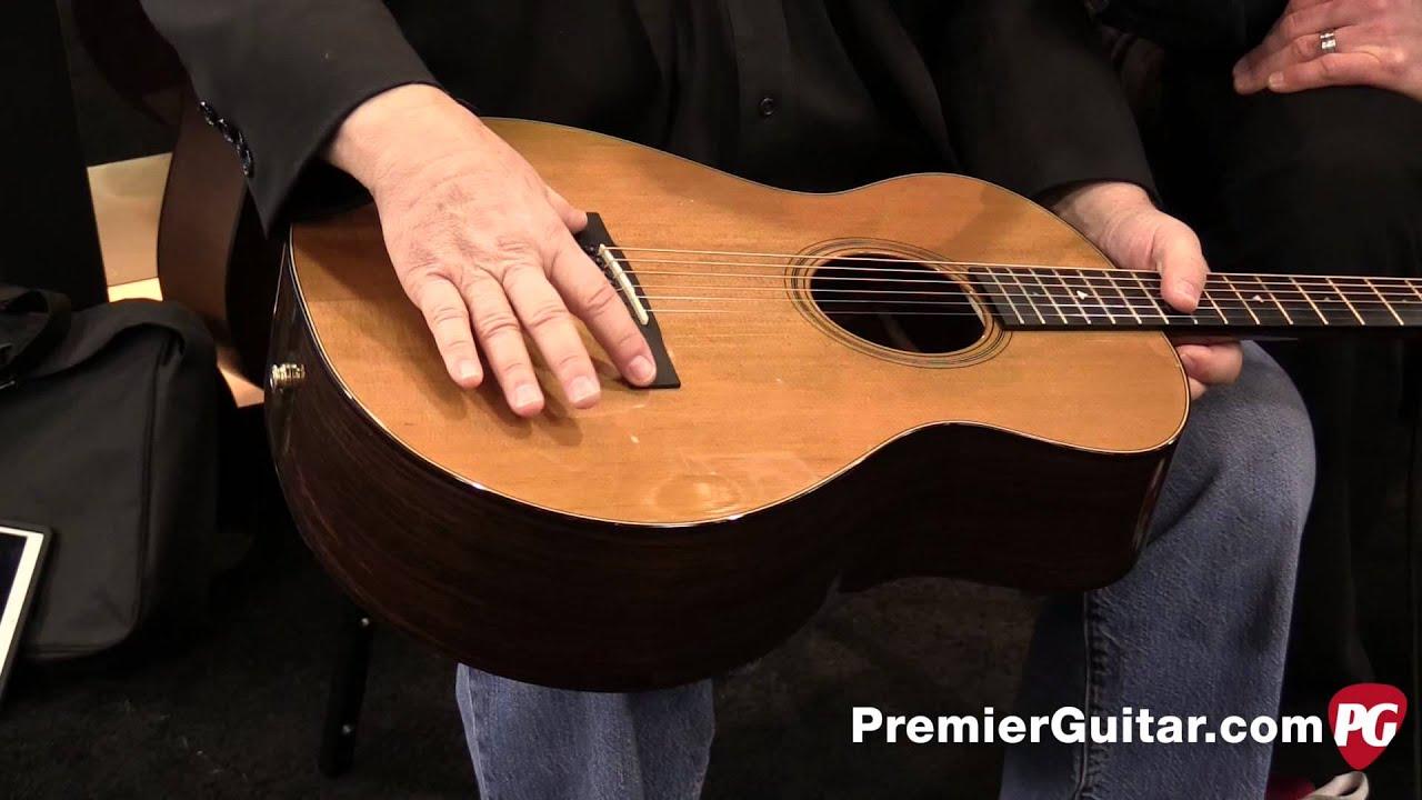 Angelica Bella Fotos namm '15 - bedell guitars angelica bella voce & angelica belissima demos