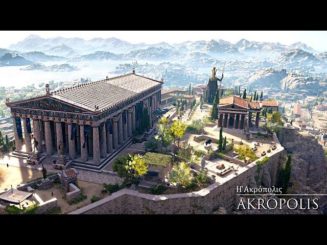 Ancient Greece | Η Αρχαία Αθήνα όπως δεν την έχετε ξαναδεί σε μια μοναδική 3D αναπαράσταση