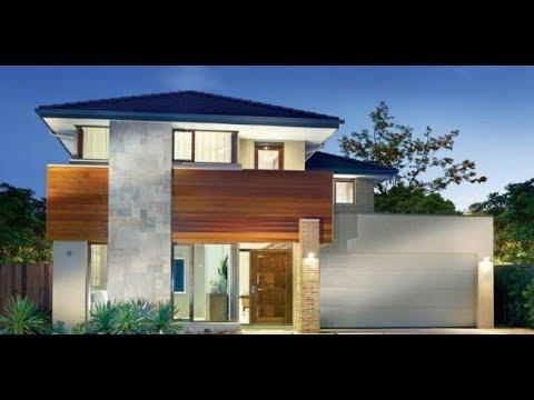 70 fachadas de casas modernas 2018 y 2017 de 70 fotos for Casas contemporaneas modernas
