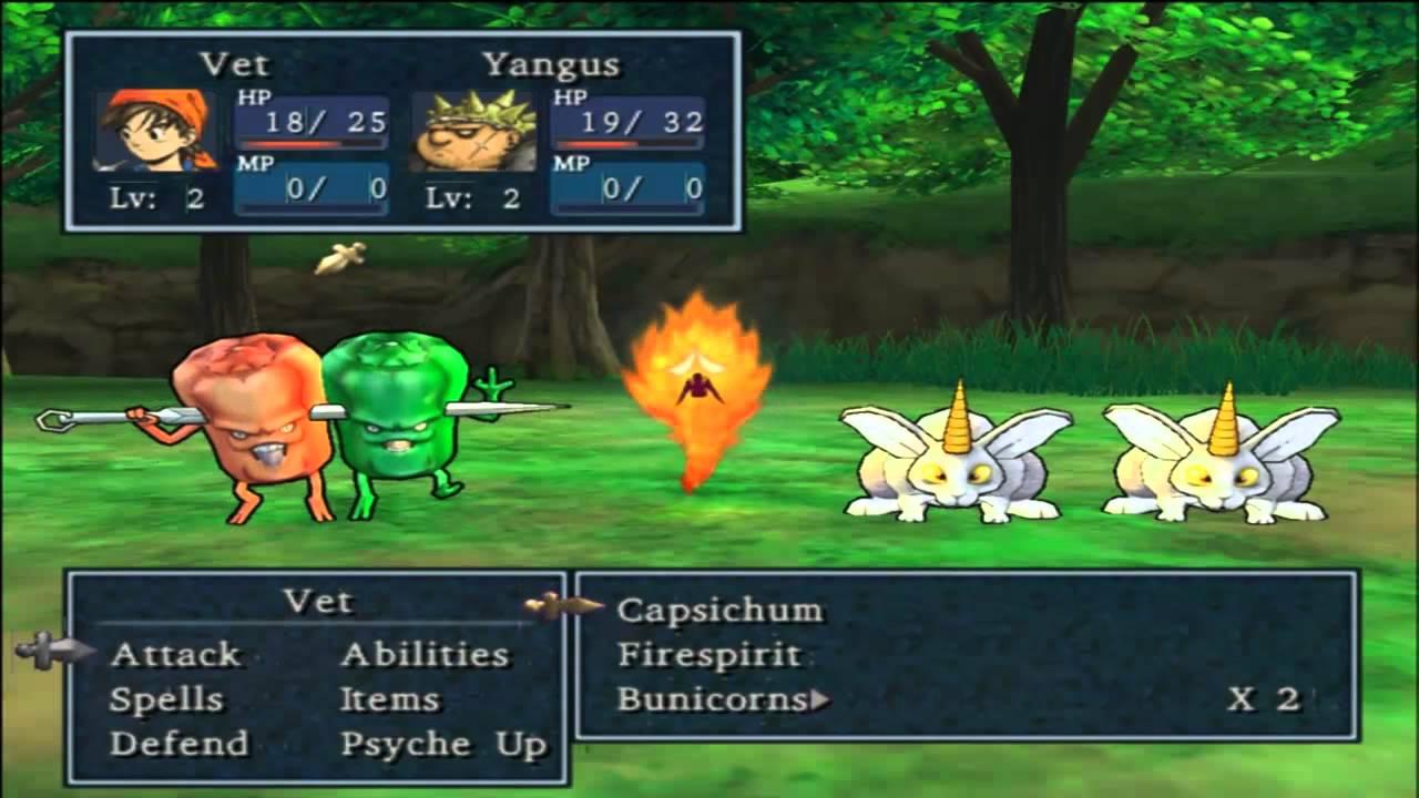 Dragon Quest 8 Spells