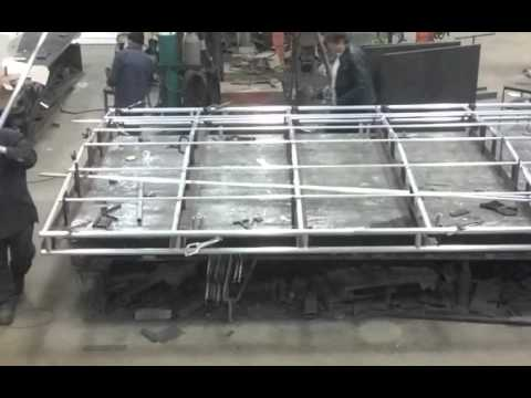 Allmand Boats Aluminum fabrication shop