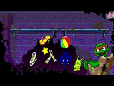 Sesame Street Oscar's Trash Collection Organizing Game |