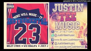 Mike Will Made it ft Miley Cyrus, Wiz Khalifa, Juicy J - 23 Instrumental beat Free download