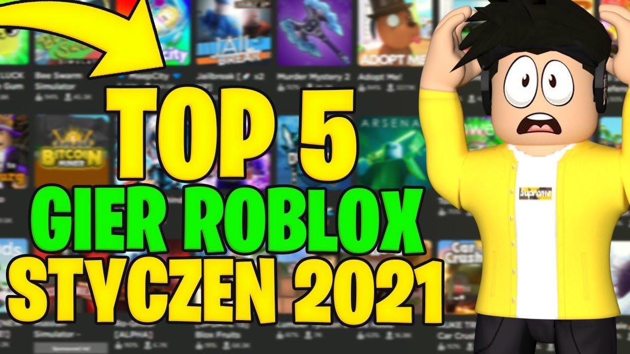 Download TOP 5 GIER ROBLOX - STYCZEŃ 2021
