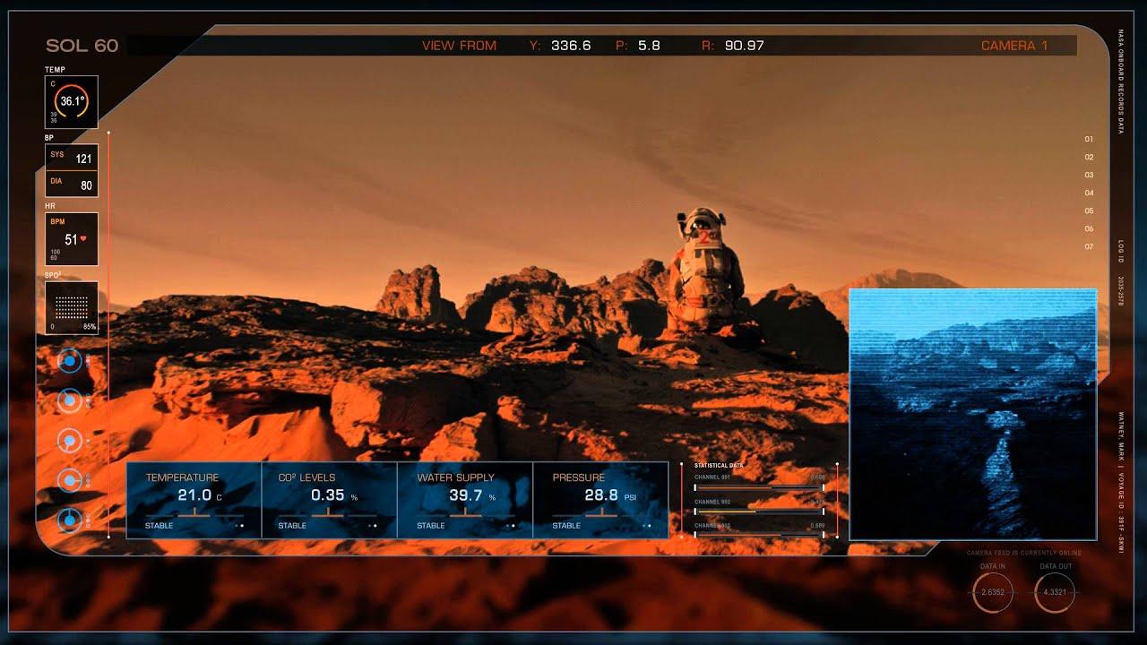 Download The Martian (2015) - Blu-ray menu